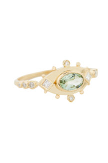 Celine Daoust_One of a kind Tourmaline and Diamonds Ring