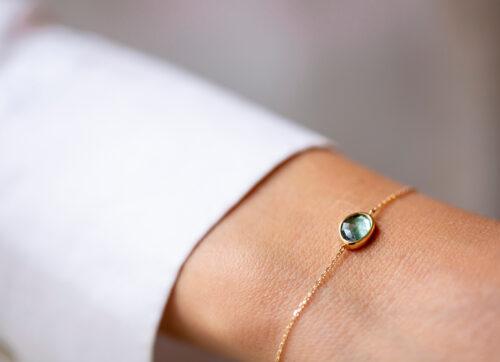 Celine Daoust One of a Kind Faye Tourmaline Bracelet