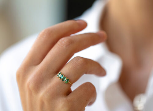 Celine Daoust One of a Kind 4 Tourmaline ring