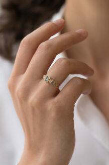 Celine Daoust Totem Tourmaline ring